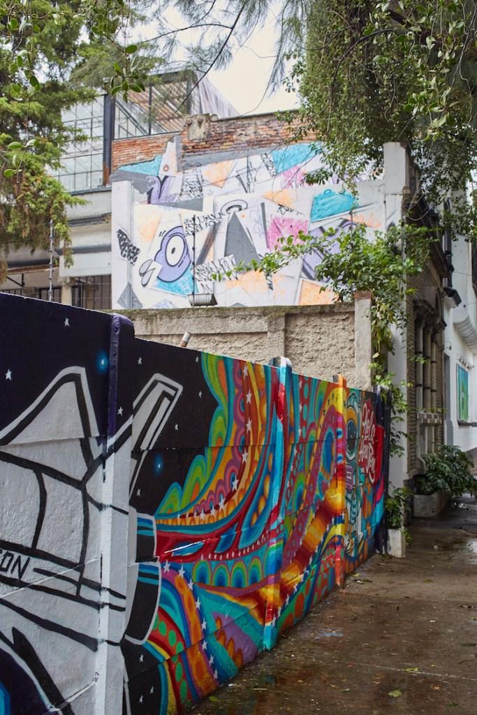 Roma Murals Mexico City