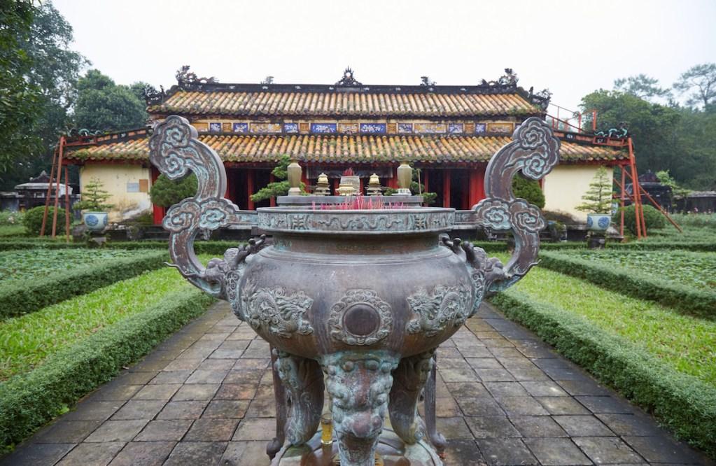 Gia Long Tomb Garden Urn
