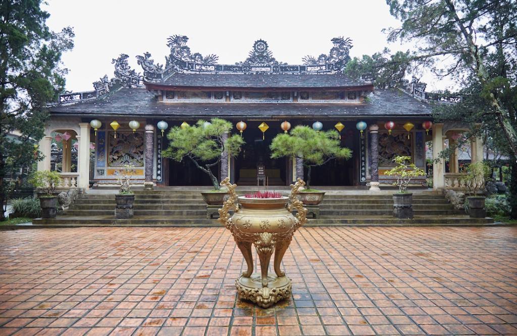 Tu Hieu Pagoda temple