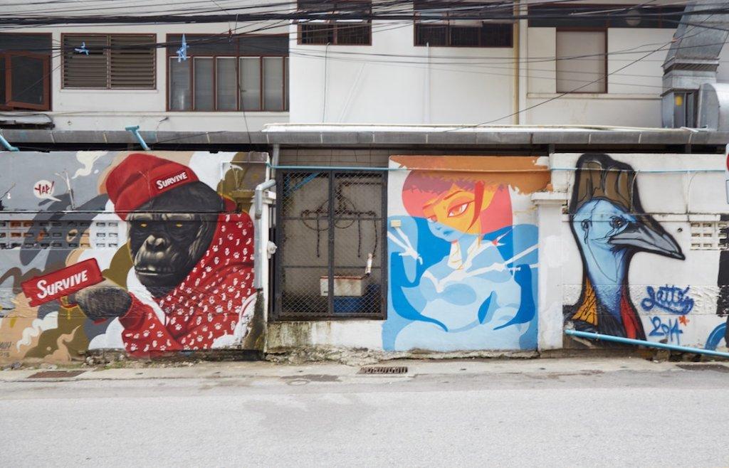Chiang Mai Nimman Street Art