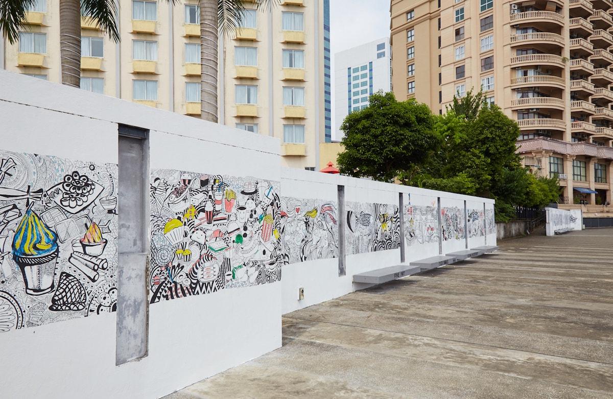 Kuching Riverfront Street Art