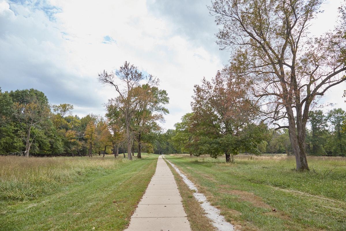 Cahokia Grand Plaza Mounds