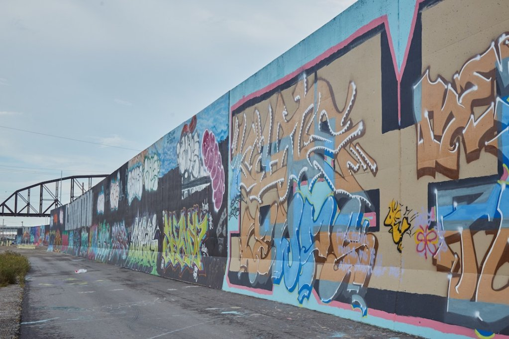 St Louis Graffiti Wall