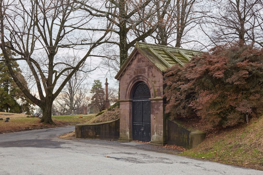 Green-Wood Cemetery Catacombs
