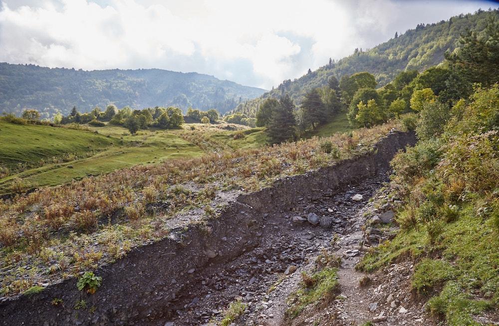 Svaneti Trekking Zhabeshi to Adishi