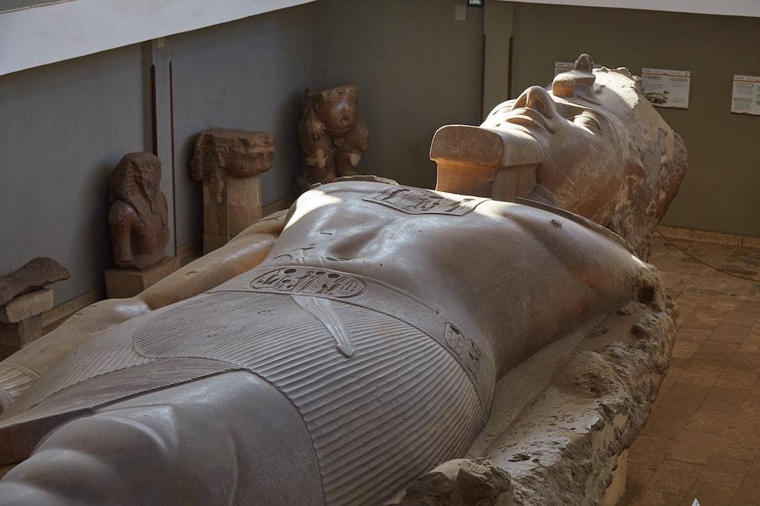 Memphis Ramesses Statue