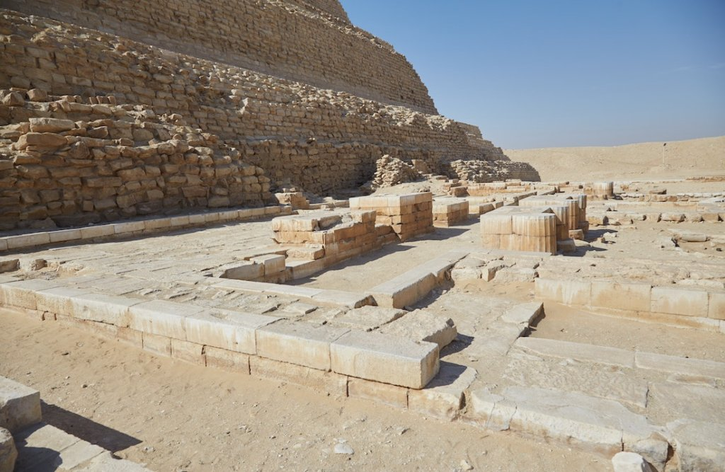 Saqqara Step Pyramid Mortuary Temple