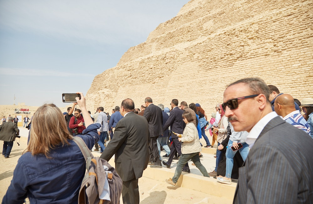 Saqqara Step Pyramid of Djoser Inauguration Ceremony