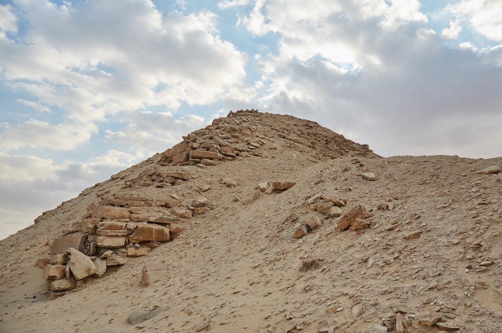 Pyramid of Nyussere Abu Sir
