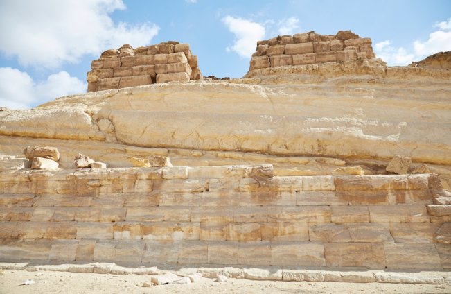 Tomb of Khentkaus Second Sphinx