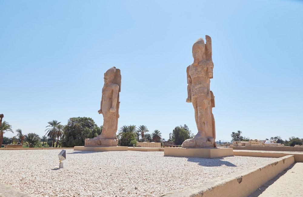 Colossi of Memnon Amenhotep III