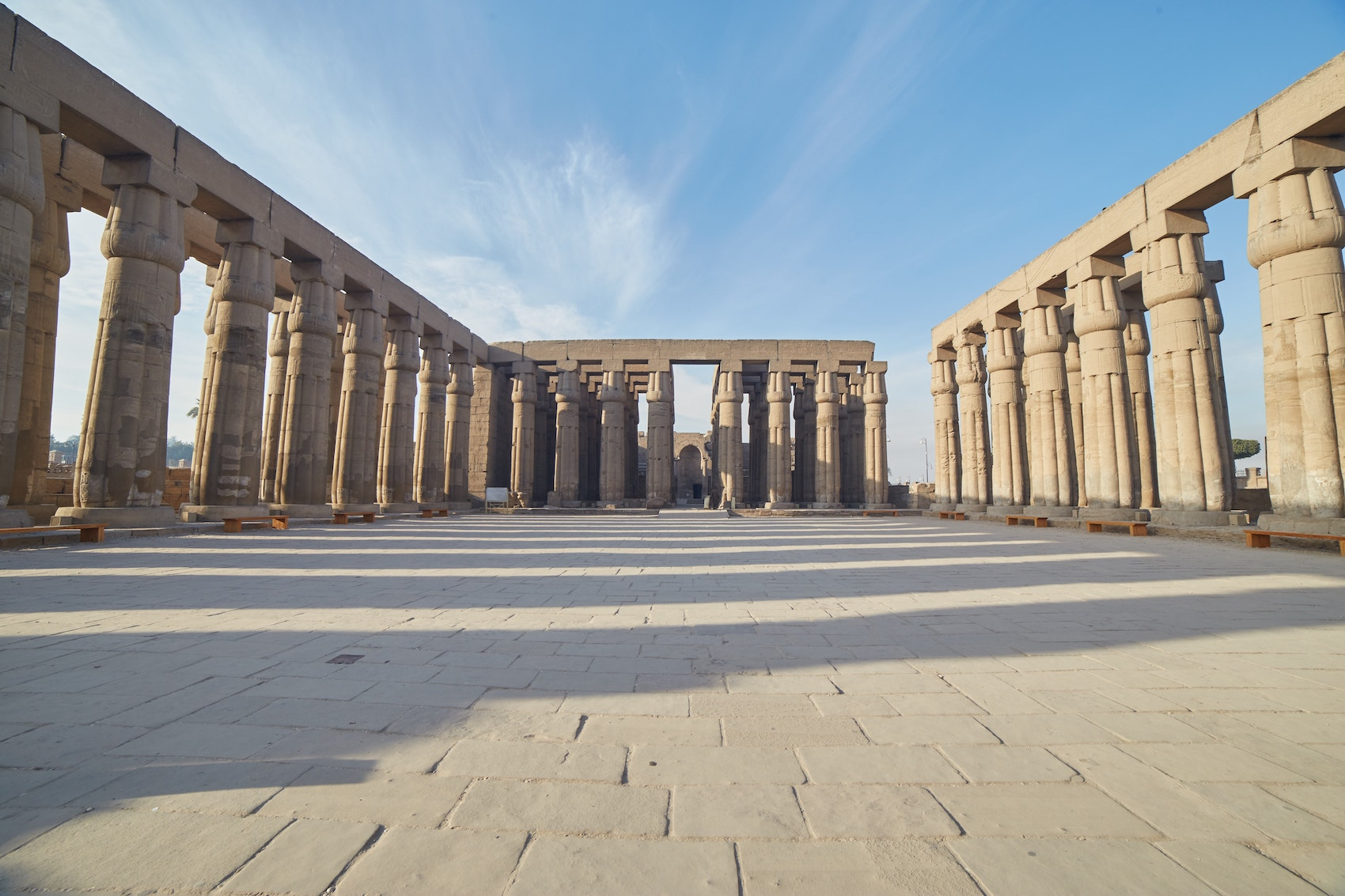 Luxor Temple Peristyle Court
