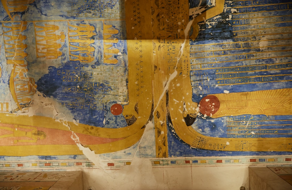Ramesses IV Tomb Valley of the Kings Guide