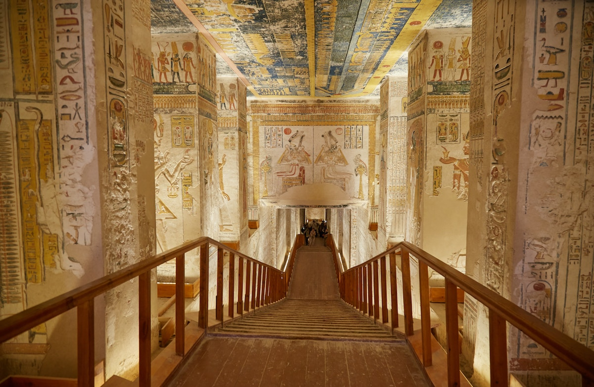 Ramesses VI Tomb Valley of the Kings Guide
