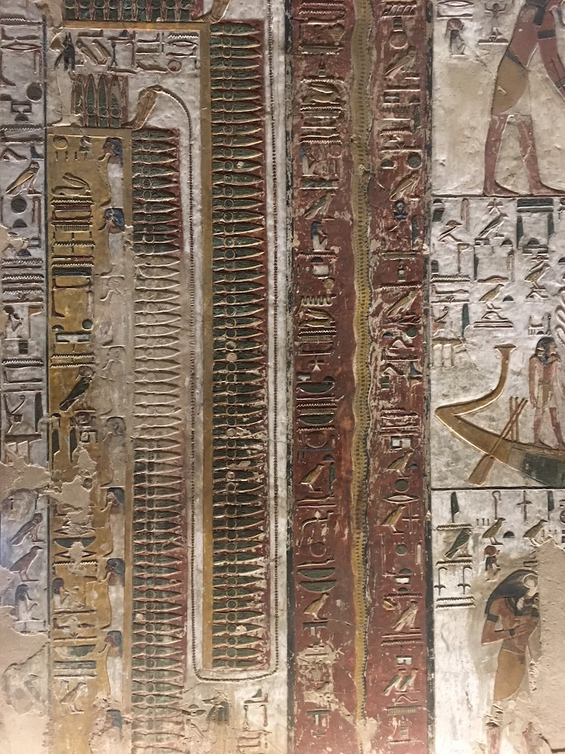 Seti I Tomb Valley of the Kings Guide