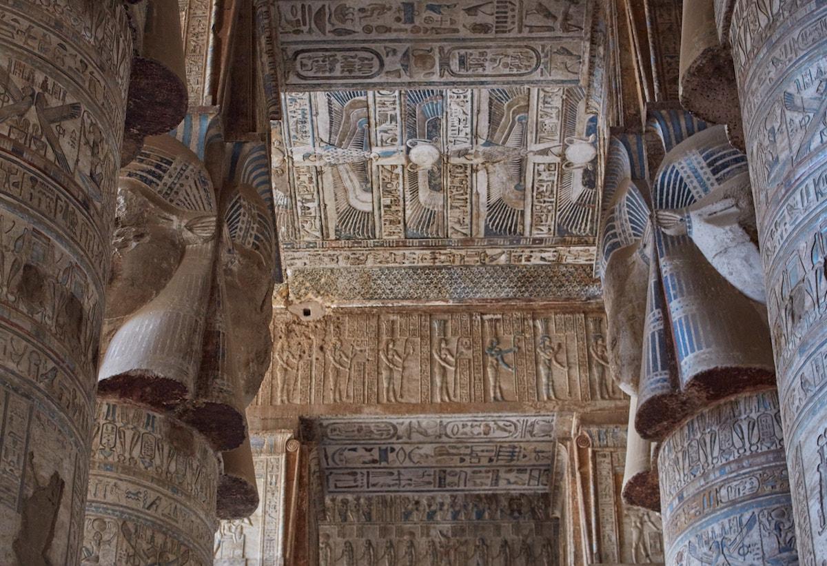 Dendera Temple Hypostyle Hall