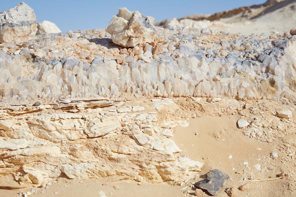 Crystal Mountain Bahariya Oasis