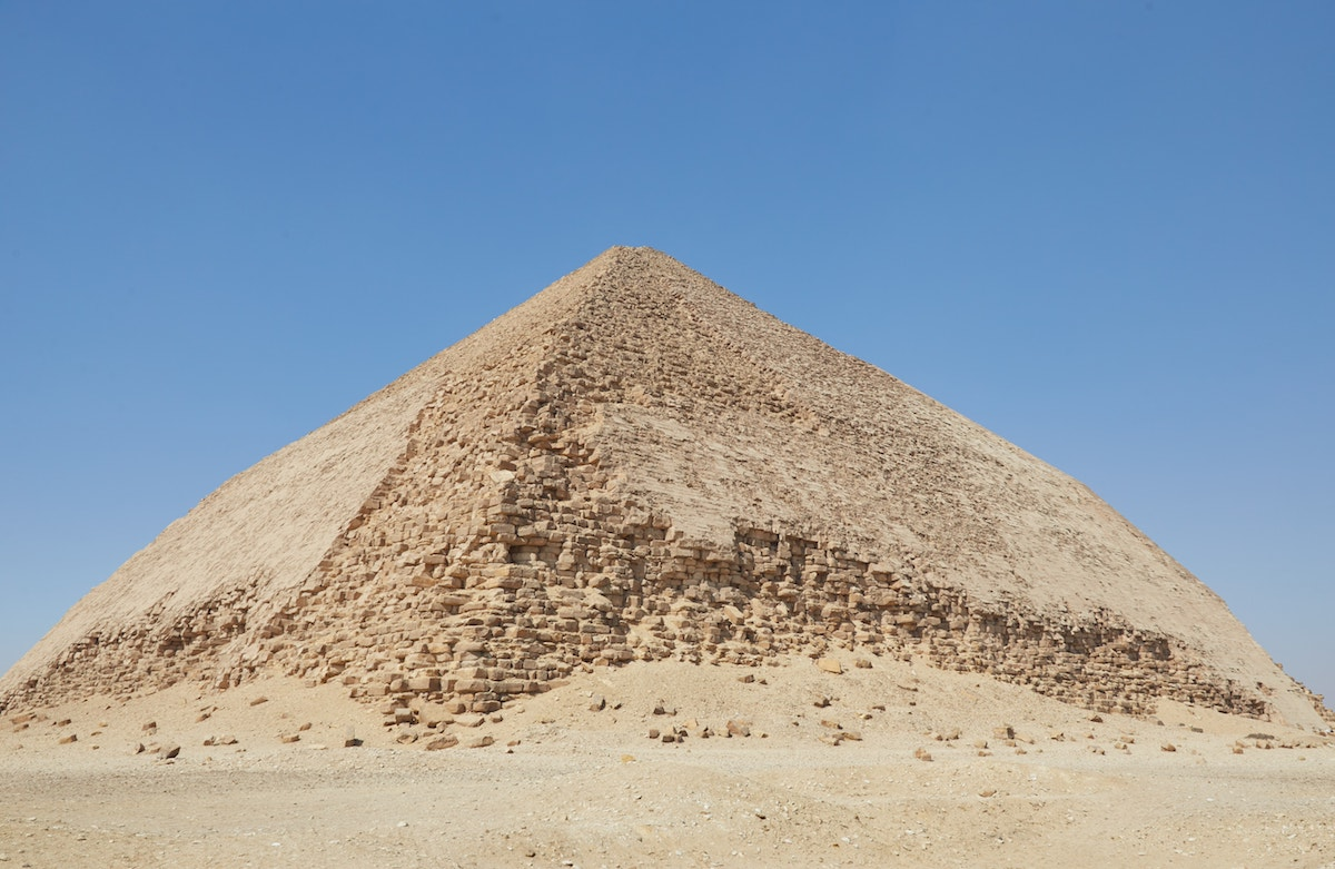 Bent Pyramid 4th Dynasty Pyramids