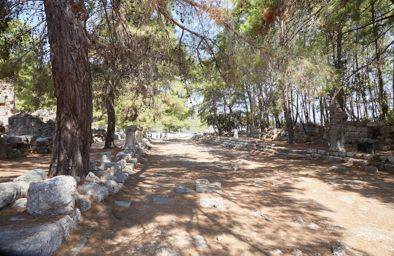 Phaselis Ancient City Antalya