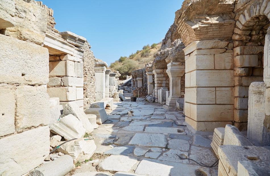 Baths & Latrine Ephesus Guide