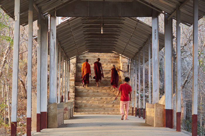 Mandalay Hill Monks