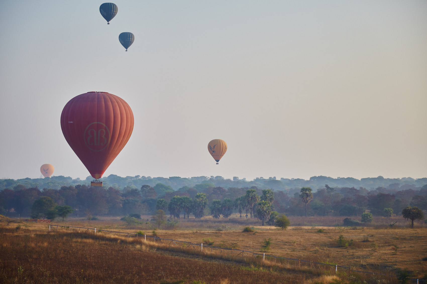 Hot Air Ballooning Bagan