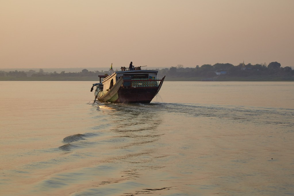 Irrawaddy River Boat