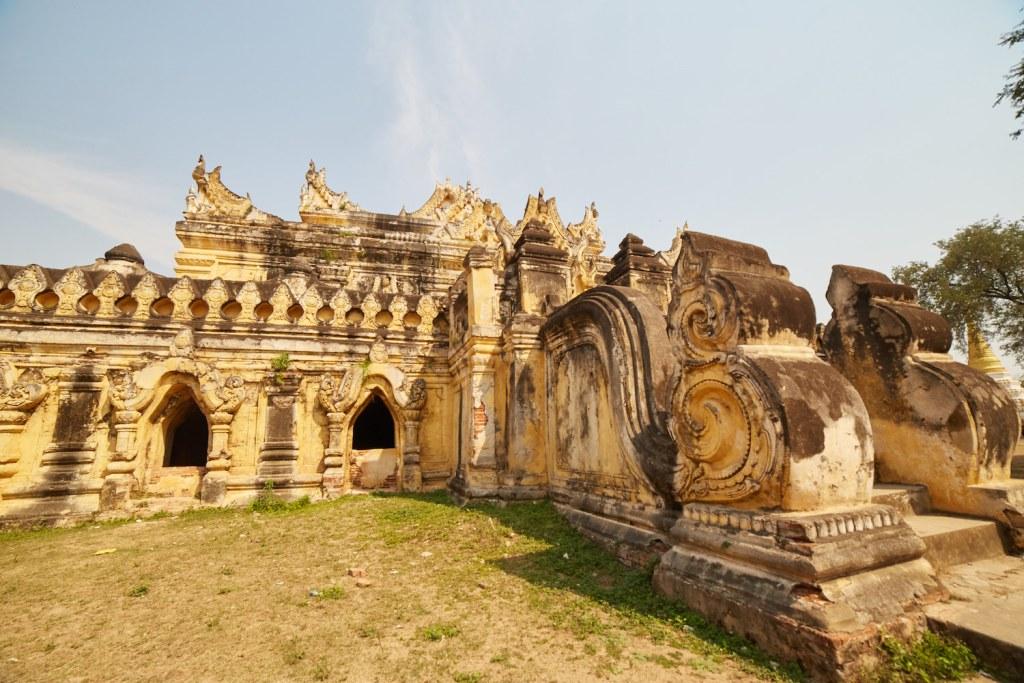 Ava Brick Monastery