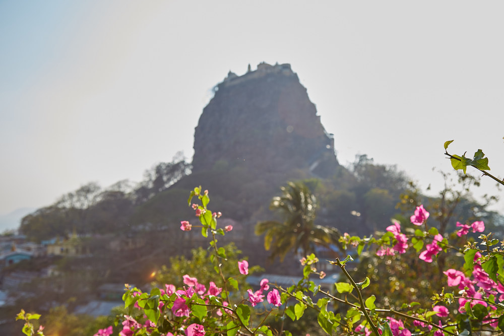 The View of Mt. Popa