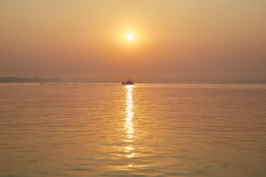 irrawaddy River Sunrise