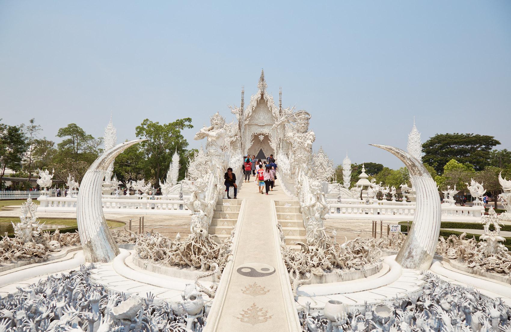 Chiang Rai Temple Front