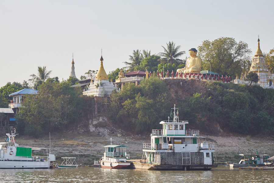 Irrawaddy River Cruise Buddha