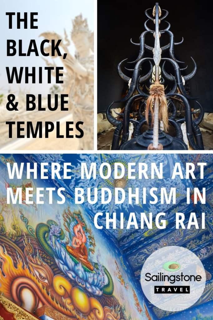 The Black, White & Blue Temples: Where Modern Art Meets Buddhism in Chiang Rai