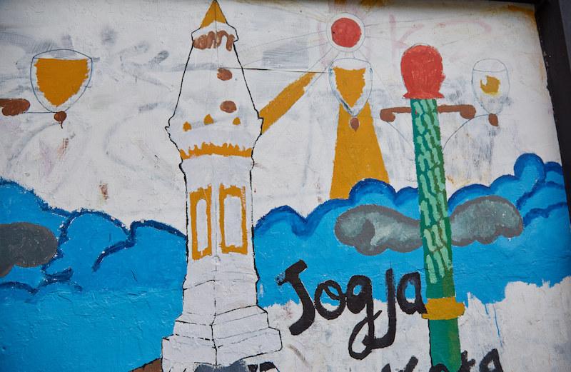Yogyakarta Student Mural