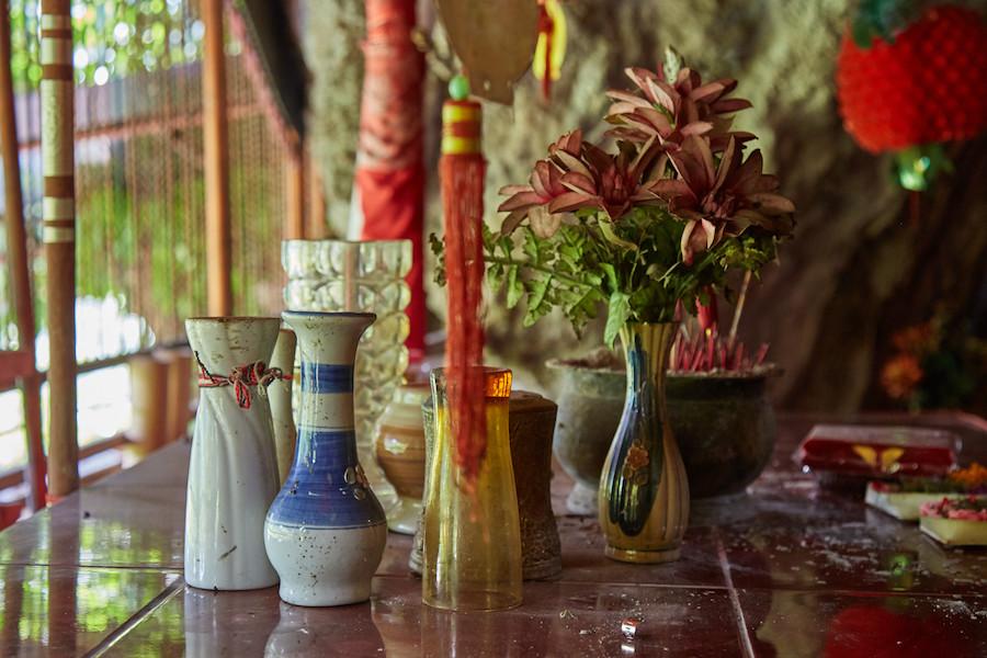 Goa Giri Putri Chinese Vase