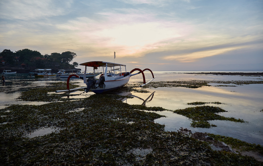 things to do in nusa lembongan sunset