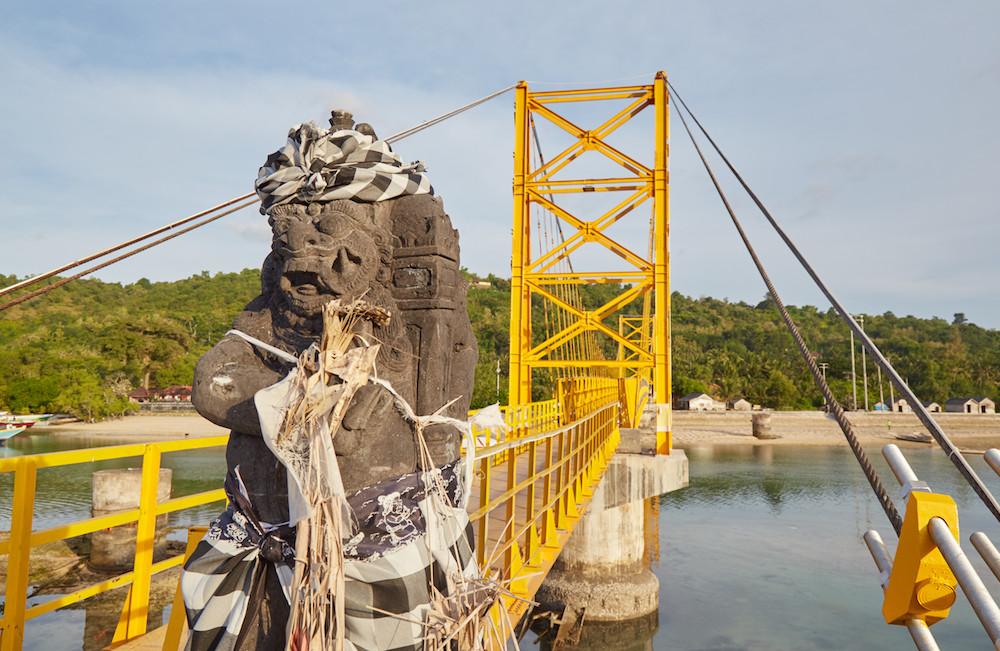 Nusa Ceningan Bridge