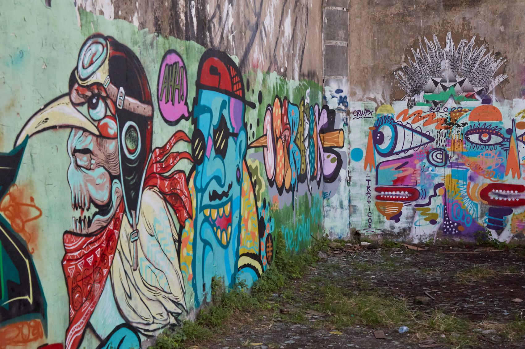 Owl Hall Murals Sanur