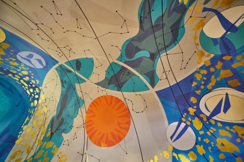 Erawan Ceiling Painting
