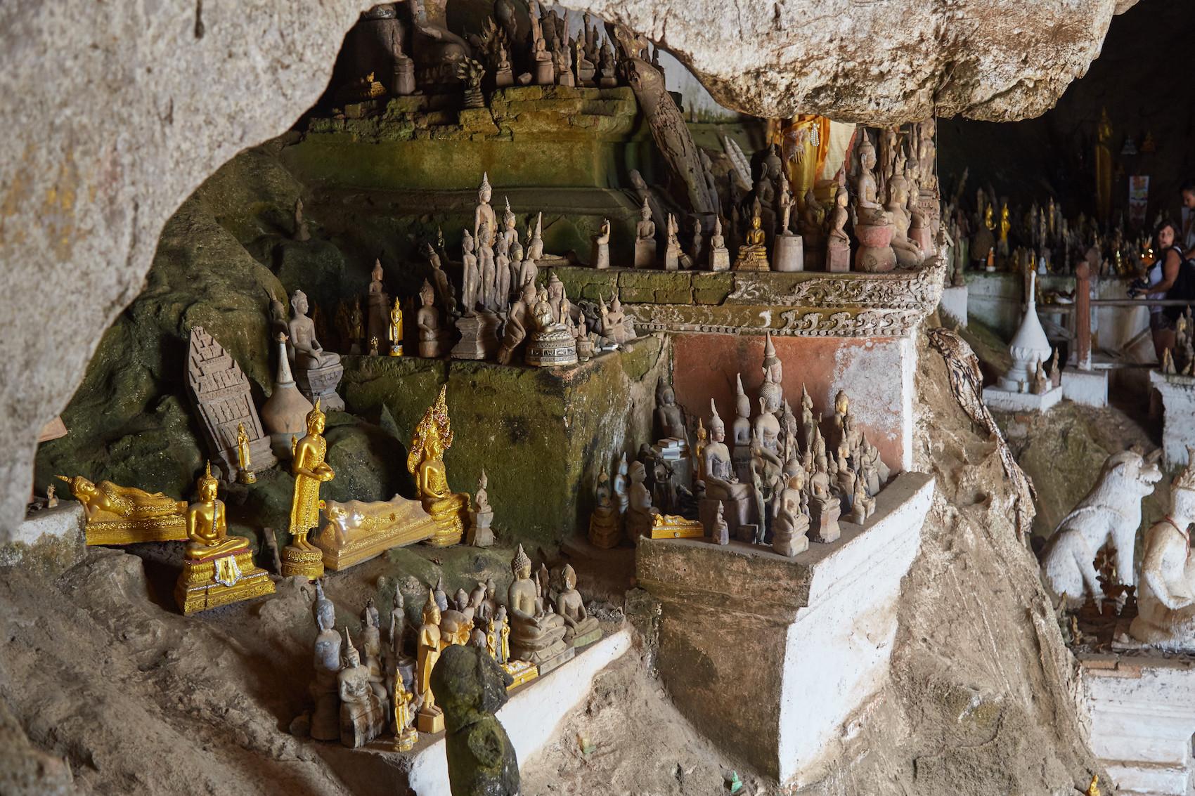 Pak Ou Caves Buddhas