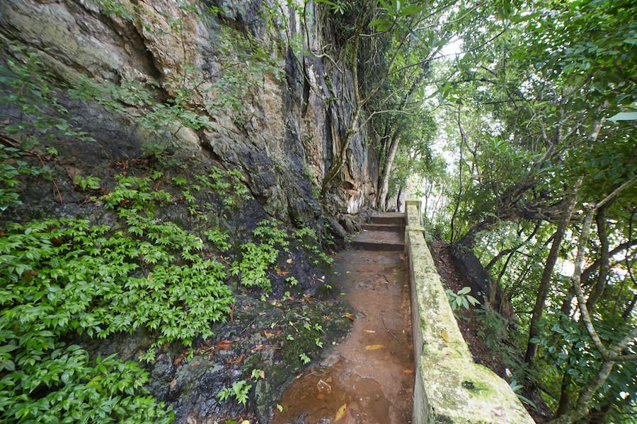 Pak Ou Caves Pathway