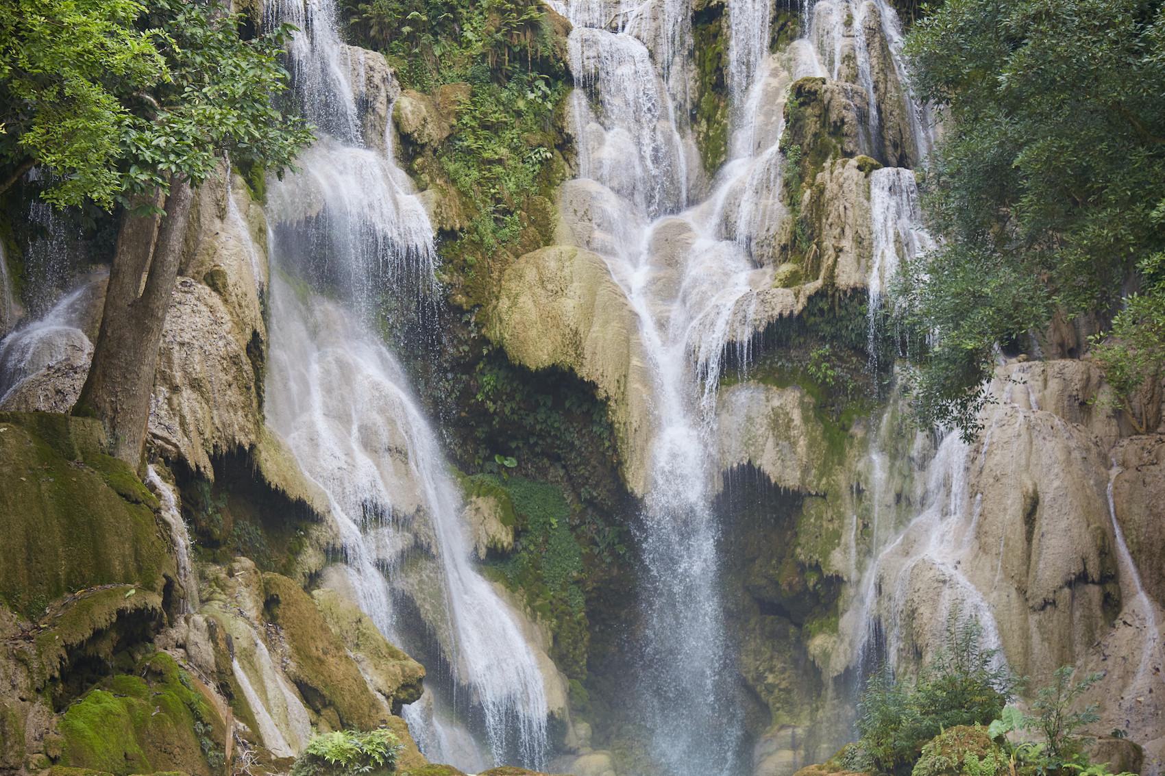 Kuang Si Falls Waterfall