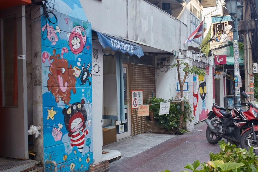 Khao San side street Bangkok