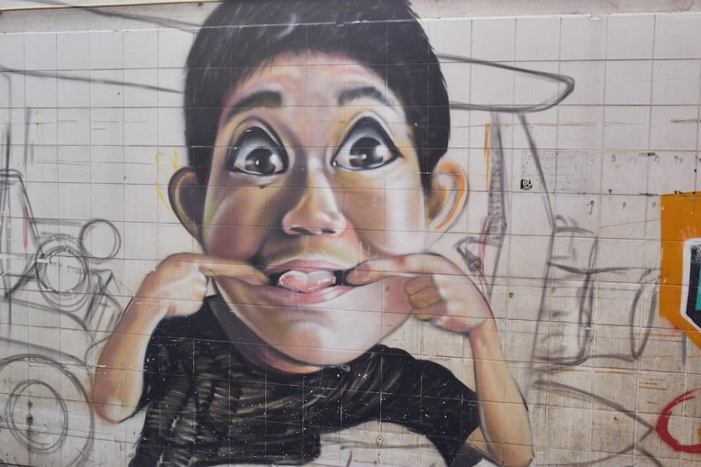 Khao San Rd Street Art Alley