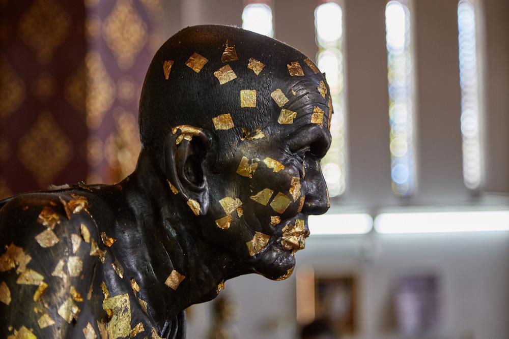 Wat Na Phra Men Monk Ayutthaya