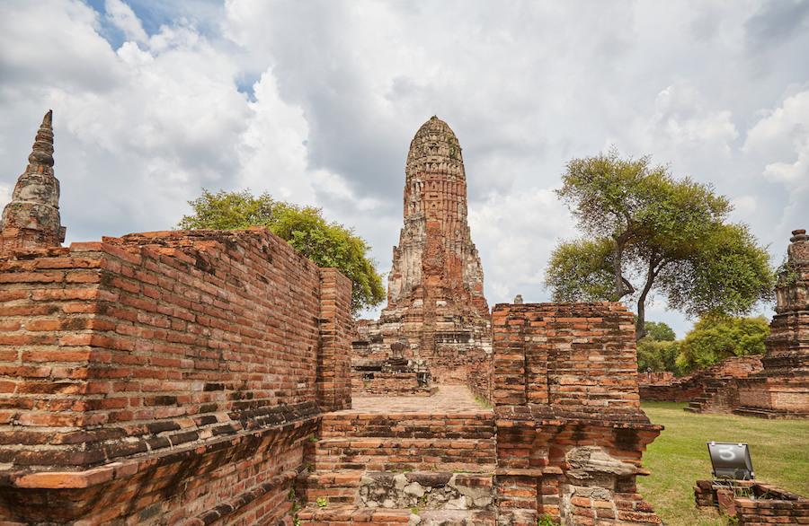 Wat Phra Ram Wide View