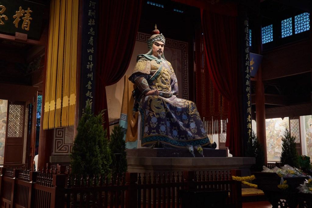 Yue Fei Statue Hangzhou