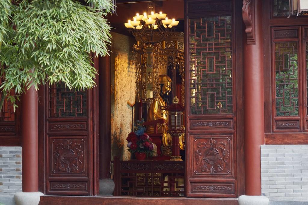 Golden Statue Hangzhou