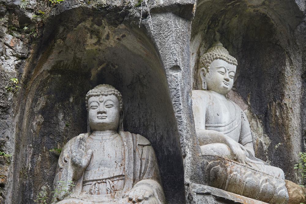 Buddhas Side by Side