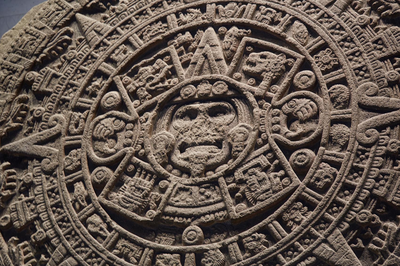 Aztec Sun Disk